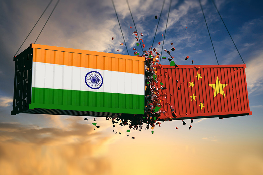 How badly the border disputes between India and China affect their trade?